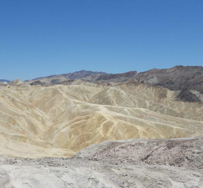 Zabriskie Point in the Death Valley, Nevada