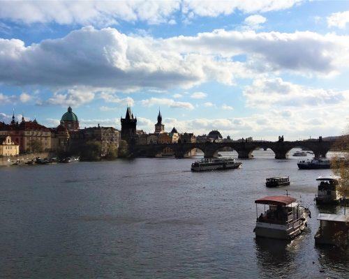 View of Charles Bridge, Prague
