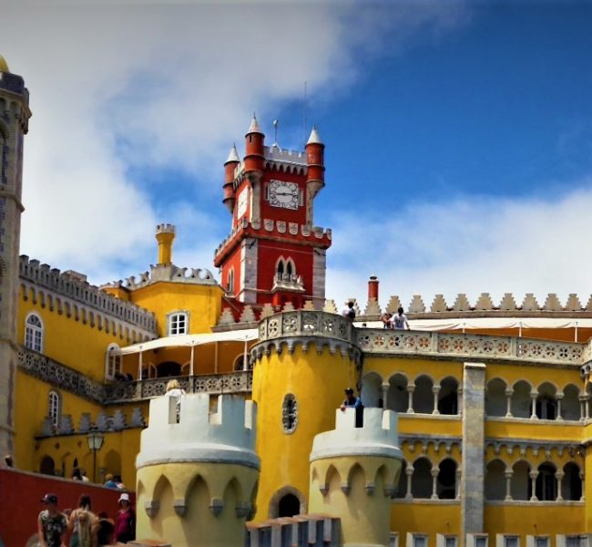 A picture of the Palacio Nacional de Pena, Sintra, Portugal