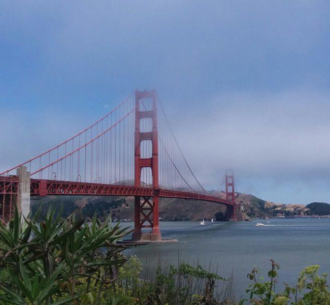 The Golden Gate Bridge in San Francisco, California