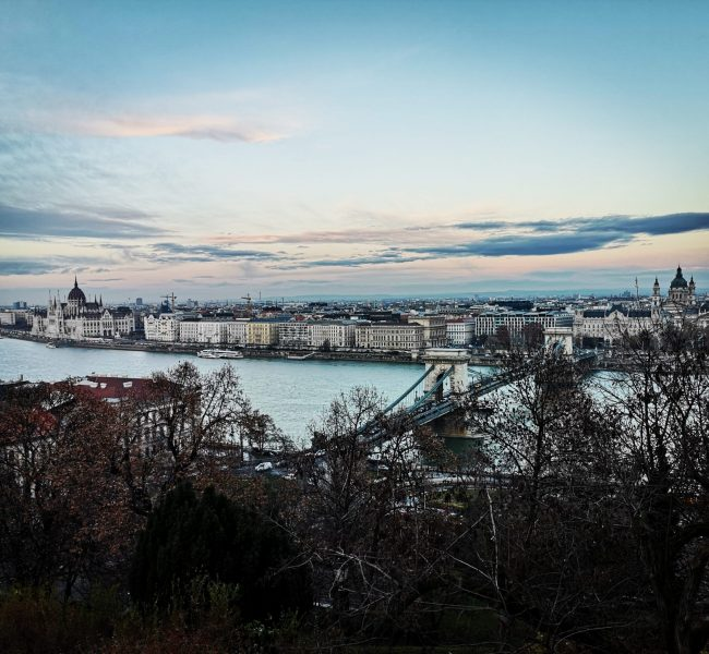 Visit Budapest - View of Budapest from Gellert hill