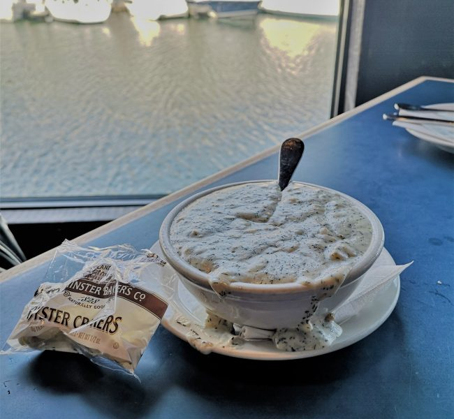 Visit Boston - what and where to eat - clam chowder