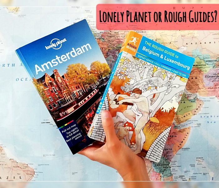 Choose a travel guide - Lonely Planet or Rough Guides?
